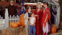 """<p>disneyplus.com</p><p><a href=""""https://go.redirectingat.com?id=74968X1596630&url=https%3A%2F%2Fwww.disneyplus.com%2Fmovies%2Fhalloweentown%2Fkn5updFQLqbG&sref=https%3A%2F%2Fwww.goodhousekeeping.com%2Fholidays%2Fhalloween-ideas%2Fg34348745%2Fbest-disney-plus-halloween-movies%2F"""" rel=""""nofollow noopener"""" target=""""_blank"""" data-ylk=""""slk:WATCH NOW"""" class=""""link rapid-noclick-resp"""">WATCH NOW</a></p><p>One of the most beloved Halloween movies of all time, <em>Halloweentown</em> follows the story of a young girl named Marnie, who discovers she's a witch. And not just any witch — she's destined to aid her grandmother in saving Halloweentown against the evil forces that wish to destroy it.</p>"""