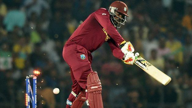 Chris Gayle equals Malinga's record of 43 ducks across all formats in cricket.