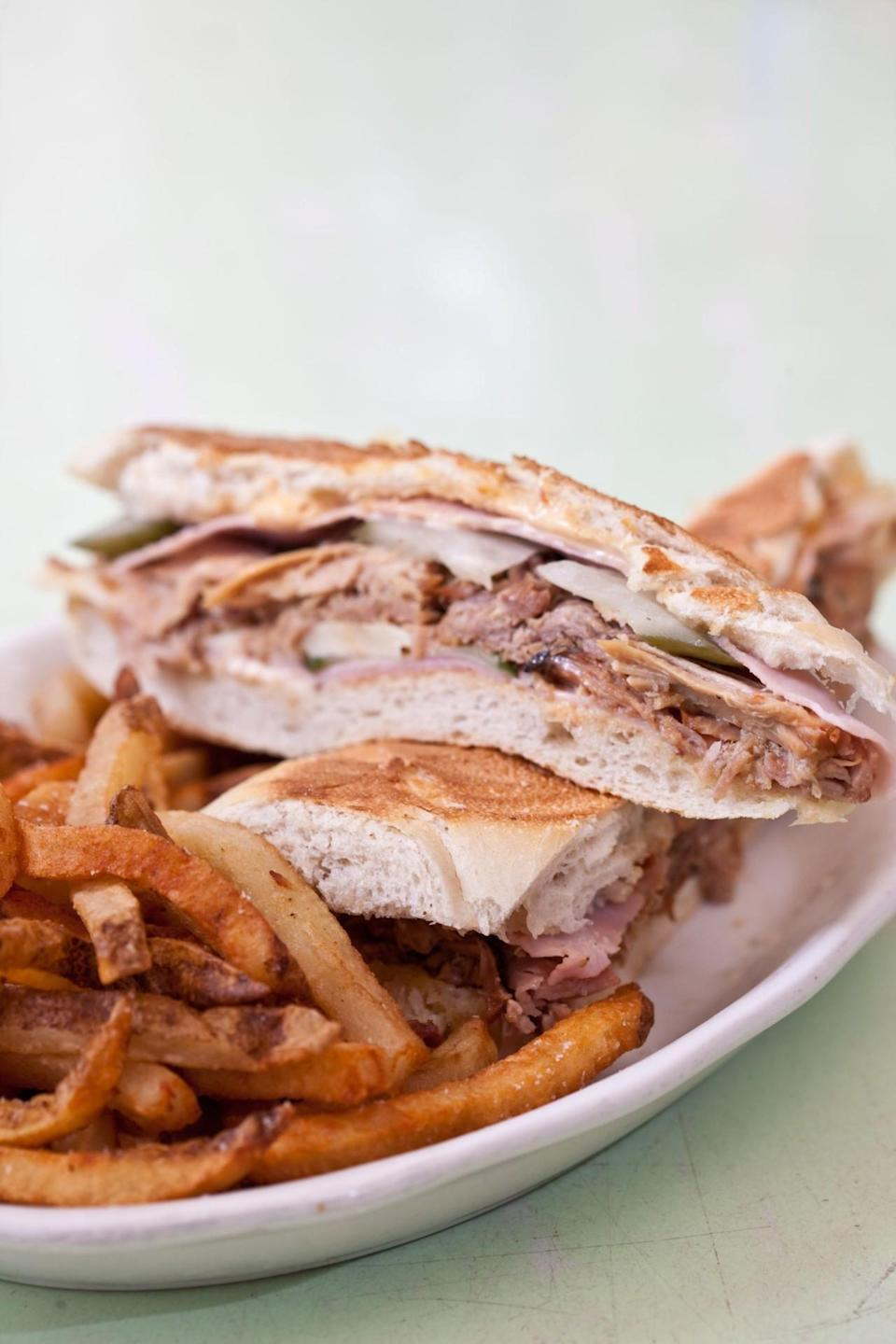 """<p>In Nolita, with 510 tips and reviews. Antonio Carusone writes, """"Great food and atmosphere. Try the Cuban sandwich and Mexican corn."""" <a href=""""http://cafehabana.com/"""" rel=""""nofollow noopener"""" target=""""_blank"""" data-ylk=""""slk:17 Prince St."""" class=""""link rapid-noclick-resp"""">17 Prince St.</a></p>"""