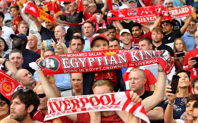 Liverpool fans have been told not to wear their colours for clash against Napoli - PA