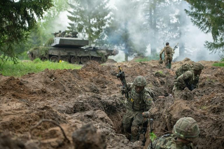 The main aim is learning how to fight together and using NATO procedures to overcome any language barrier or differing approaches to engagement