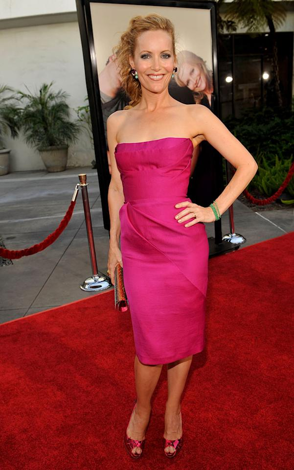 """<a href=""""http://movies.yahoo.com/movie/contributor/1800018715"""">Leslie Mann</a> at the Los Angeles premiere of <a href=""""http://movies.yahoo.com/movie/1810041785/info"""">Funny People</a> - 07/20/2009"""