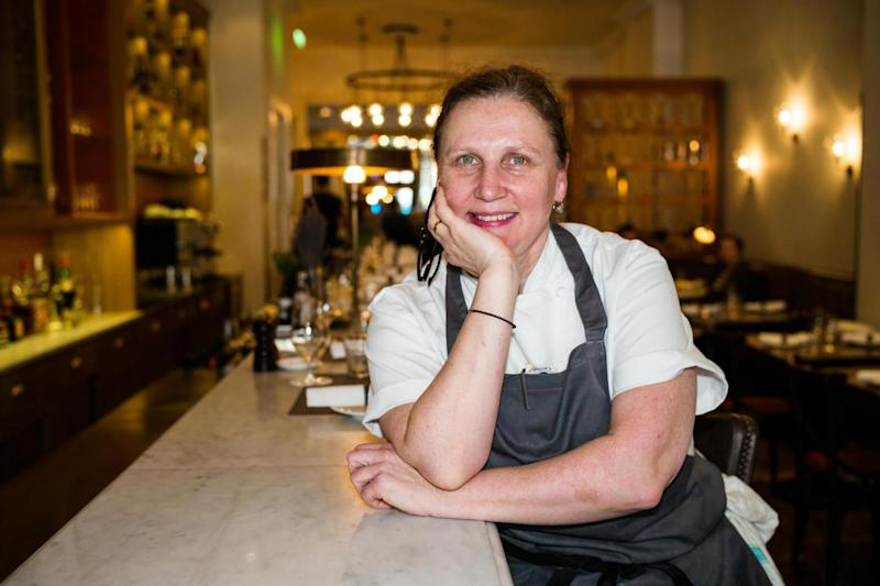 Trail-blazer: Angela Hartnett at Murano (Alex Lentati)