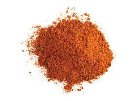 """<em>rahs el huh-NOOT</em> A spice mixture whose name translates to """"top of the shop"""" that typically includes cardamom, clove, cinnamon, chili peppers, coriander, cumin, nutmeg, peppercorn, and turmeric. Each spice merchant has his own variation of the recipe -- some more exotic ingredients may include ash berries, grains of paradise or dried rosebud, among others. <strong>How to Use:</strong> Use as a rub for meats to be roasted. Use in stews and braises, such as Moroccan tagine. <strong>Origin:</strong> Morocco <strong>Recipe:</strong> <a href=""""http://www.huffingtonpost.com/2011/10/27/oven-roasted-halibut-in-c_n_1057860.html"""" rel=""""nofollow noopener"""" target=""""_blank"""" data-ylk=""""slk:Oven-Roasted Halibut in Charmoula Marinade"""" class=""""link rapid-noclick-resp"""">Oven-Roasted Halibut in Charmoula Marinade</a> <strong><span>Ras El Hanout</span> at DeanandDeluca.com, $25</strong>"""