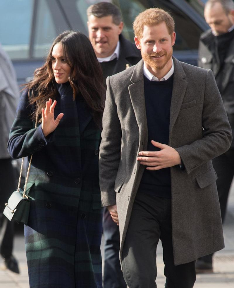 However her marriage to Prince Harry could see Meghan's net worth skyrocket. Photo: Getty