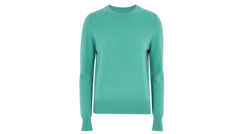 Pure Cashmere Crew Neck Jumper