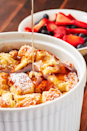 """<p>There's no need for your French toast casserole to take an hour to bake in the oven.</p><p>Get the recipe from <a href=""""https://www.delish.com/cooking/recipe-ideas/a27345414/instant-pot-french-toast-recipe/"""" rel=""""nofollow noopener"""" target=""""_blank"""" data-ylk=""""slk:Delish"""" class=""""link rapid-noclick-resp"""">Delish</a>. </p>"""
