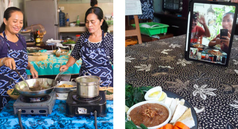 Learn to make Balinese cuisine from your kitchen. (Photo: Airbnb)