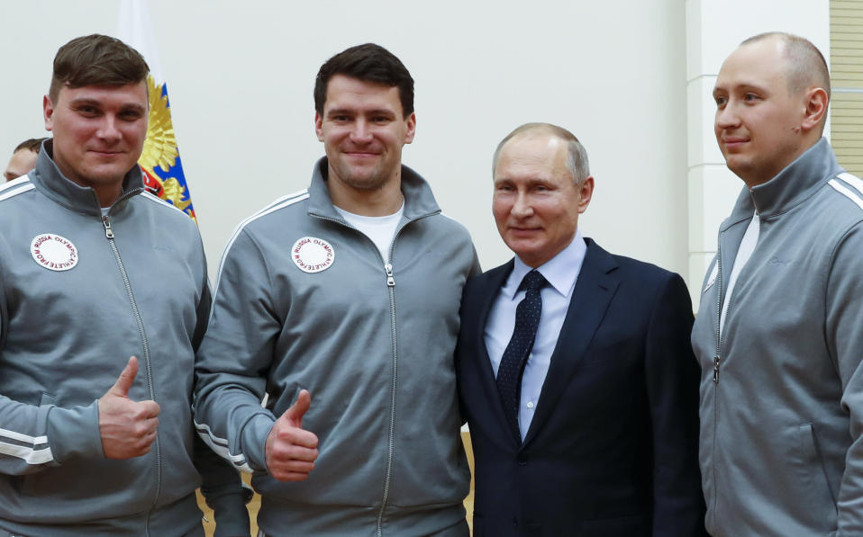 Russia figures to back in full force for the 2020 Olympics. (AP Photo)