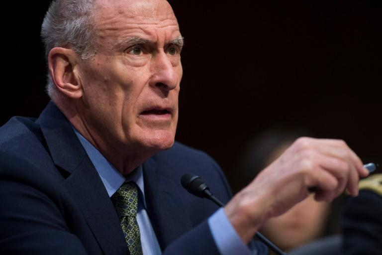 US intelligence chief Dan Coats will be the latest senior official to depart President Donald Trump's turnover-plagued administration (AFP Photo/SAUL LOEB)