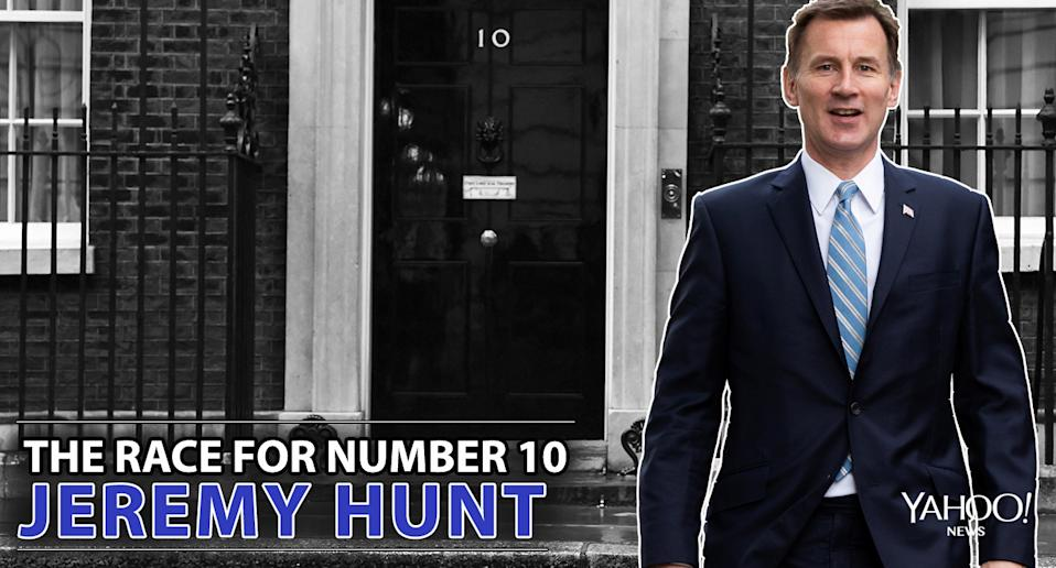 The race for Number 10: Jeremy Hunt