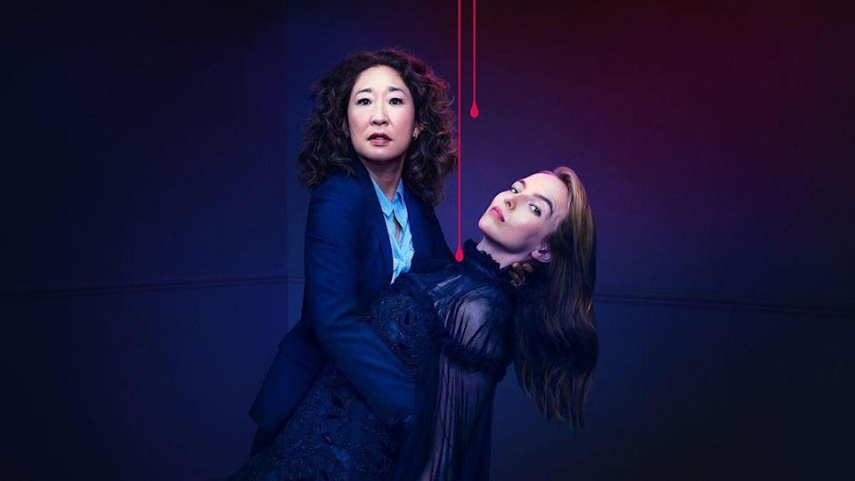 Sandra Oh and Jodie Comer star in spy thriller TV series 'Killing Eve'. (Credit: BBC)