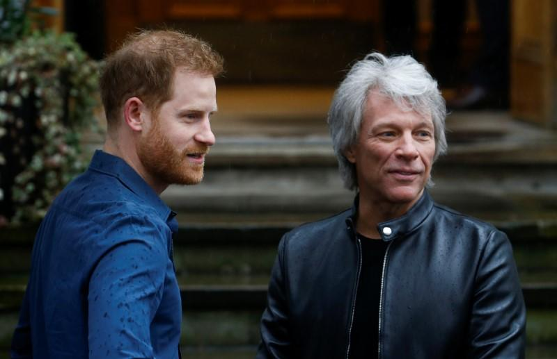 Bon Jovi, Prince Harry and military choir launch charity single 'Unbroken'