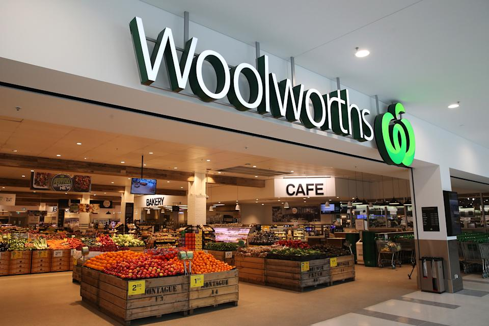 Pictured is a Woolworths supermarket in Sydney, 2015