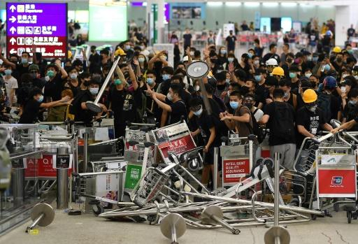 After initially just voicing their demands with peaceful demonstrations, the protesters adopted more aggressive tactics
