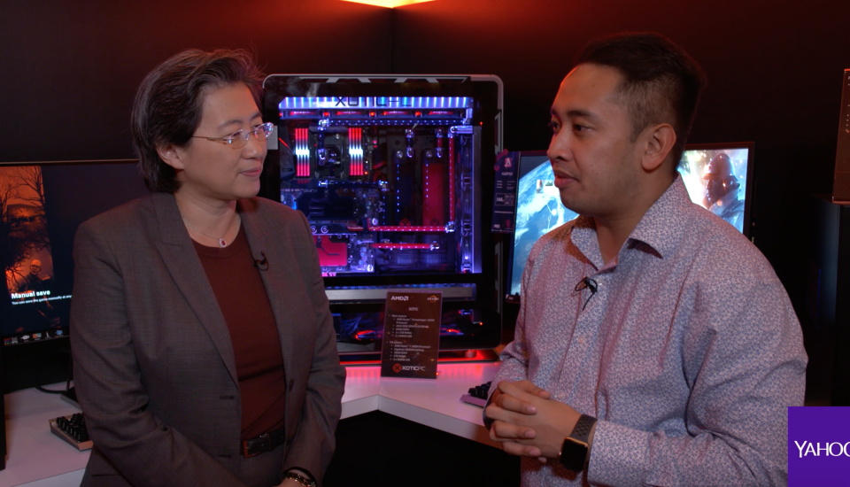AMD CEO Lisa Su tells Yahoo Finance the Austin, Texas company is quickly working towards a solution for the Spectre security flaw.