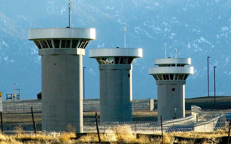 The Supermax prison in Colorado is guarded by razor-wire fences, gun towers, heavily armed patrols and attack dogs - The Pueblo Chieftain