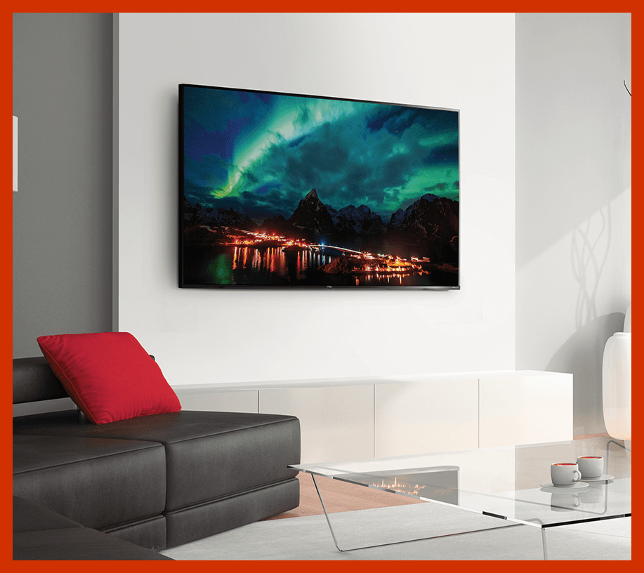 A work of art, with endless entertainment possibilities. (Photo: TCL)