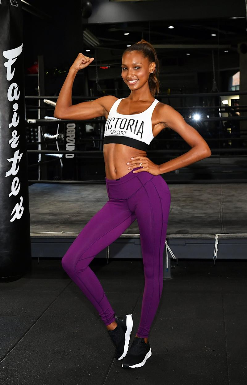 Work Your Upper Body and Core With This Bodyweight Move from Model Jasmine Tookes