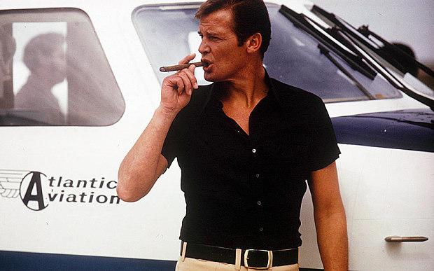 Roger Moore, arguably the best James Bond, in 1968