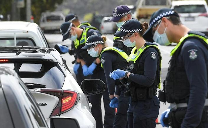 Melbourne has been in strict lockdown for seven weeks (AFP/William WEST)