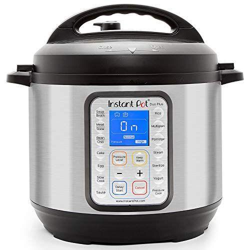 """<p><strong>Instant Pot</strong></p><p>amazon.com</p><p><strong>$99.99</strong></p><p><a href=""""https://www.amazon.com/dp/B01NBKTPTS?tag=syn-yahoo-20&ascsubtag=%5Bartid%7C2139.g.36132587%5Bsrc%7Cyahoo-us"""" rel=""""nofollow noopener"""" target=""""_blank"""" data-ylk=""""slk:BUY IT HERE"""" class=""""link rapid-noclick-resp"""">BUY IT HERE</a></p><p>The Instant Pot trend isn't all hype. This fool-proof pressure cooker can do it all, that you'll rarely need to use your oven again. It takes the guesswork out of cooking with multiple smart modes to braise meat, sauté veggies, cook soup, rice, and even bake cake. You don't have to be a five-star chef to eat a five-star meal—you just need a handy Instant Pot. </p>"""