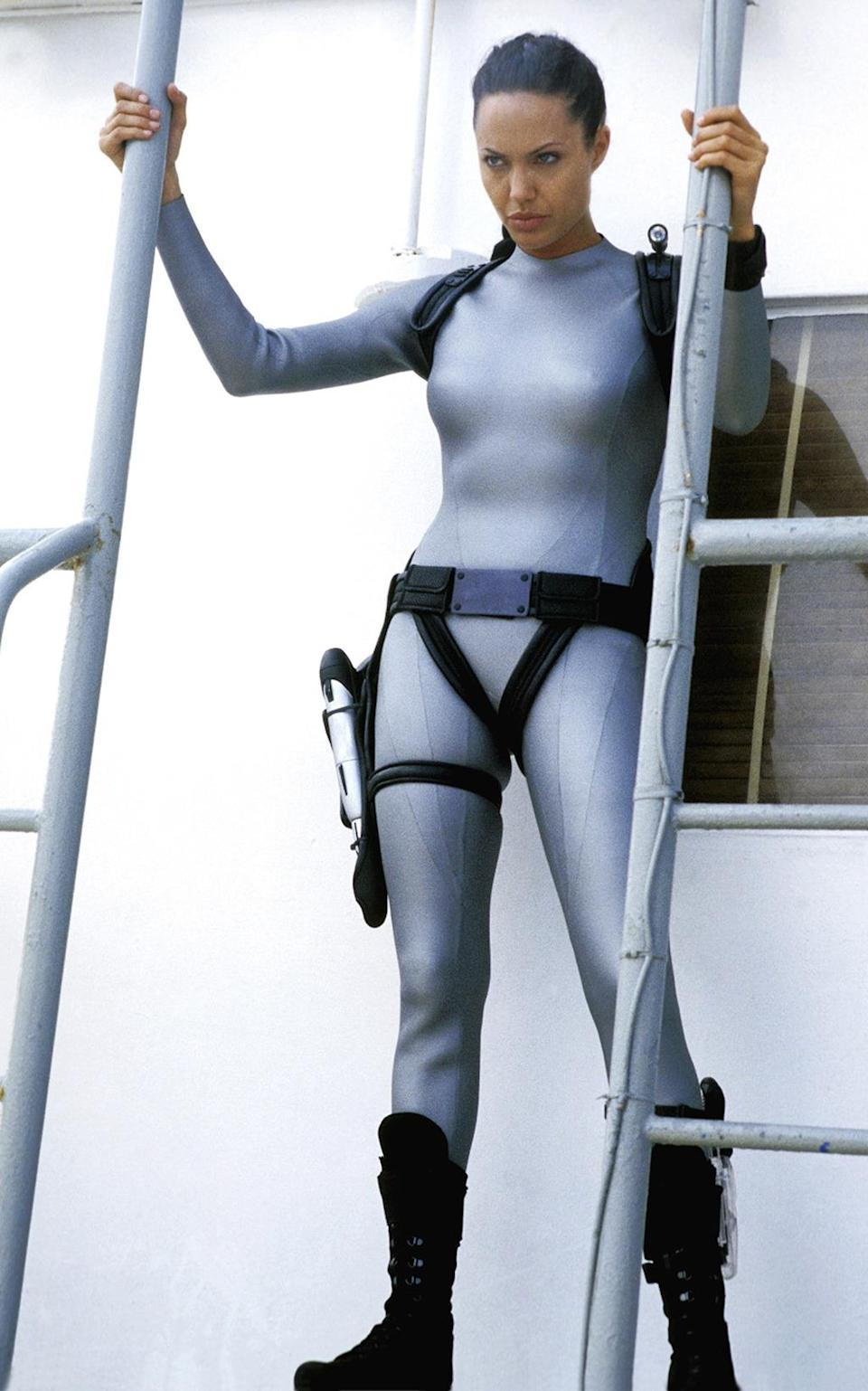<p>'Cradle of Life' finds Lara (and her new snazzy, skintight wetsuit) on the hunt for Pandora's box. Reviewers prefer this to the original, but the box office fails to come close, which Paramount blames on the poor reception for the 'Angel of Darkness' game. (Photo: Everett) </p>