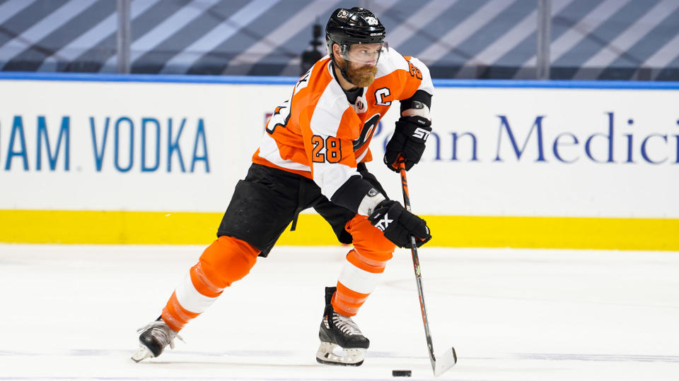 Claude Giroux is still a solid player, although his fantasy production has dipped in recent years. (Photo by Mark Blinch/NHLI via Getty Images)