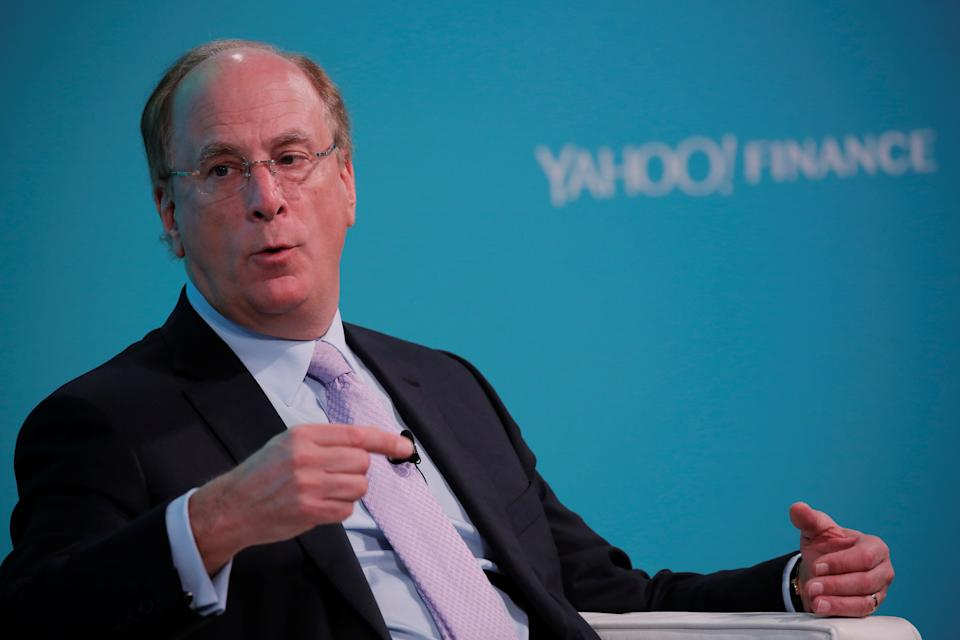 Larry Fink, Chief Executive Officer of BlackRock. Photo: Reuters