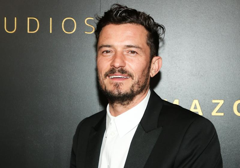 BEVERLY HILLS, CALIFORNIA - JANUARY 05: Actor Orlando Bloom attends Amazon Studios Golden Globes after party at The Beverly Hilton Hotel on January 05, 2020 in Beverly Hills, California. (Photo by Paul Archuleta/WireImage)