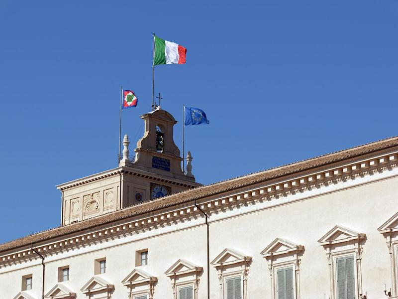 Quirinal flags (Photo: novecentoED via Getty Images)