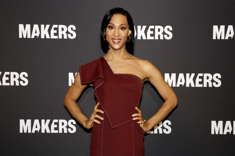 MJ Rodriguez will be among the A-listers appearing in virtual Pride events this year. (Photo: Rachel Murray/Getty Images for MAKERS)
