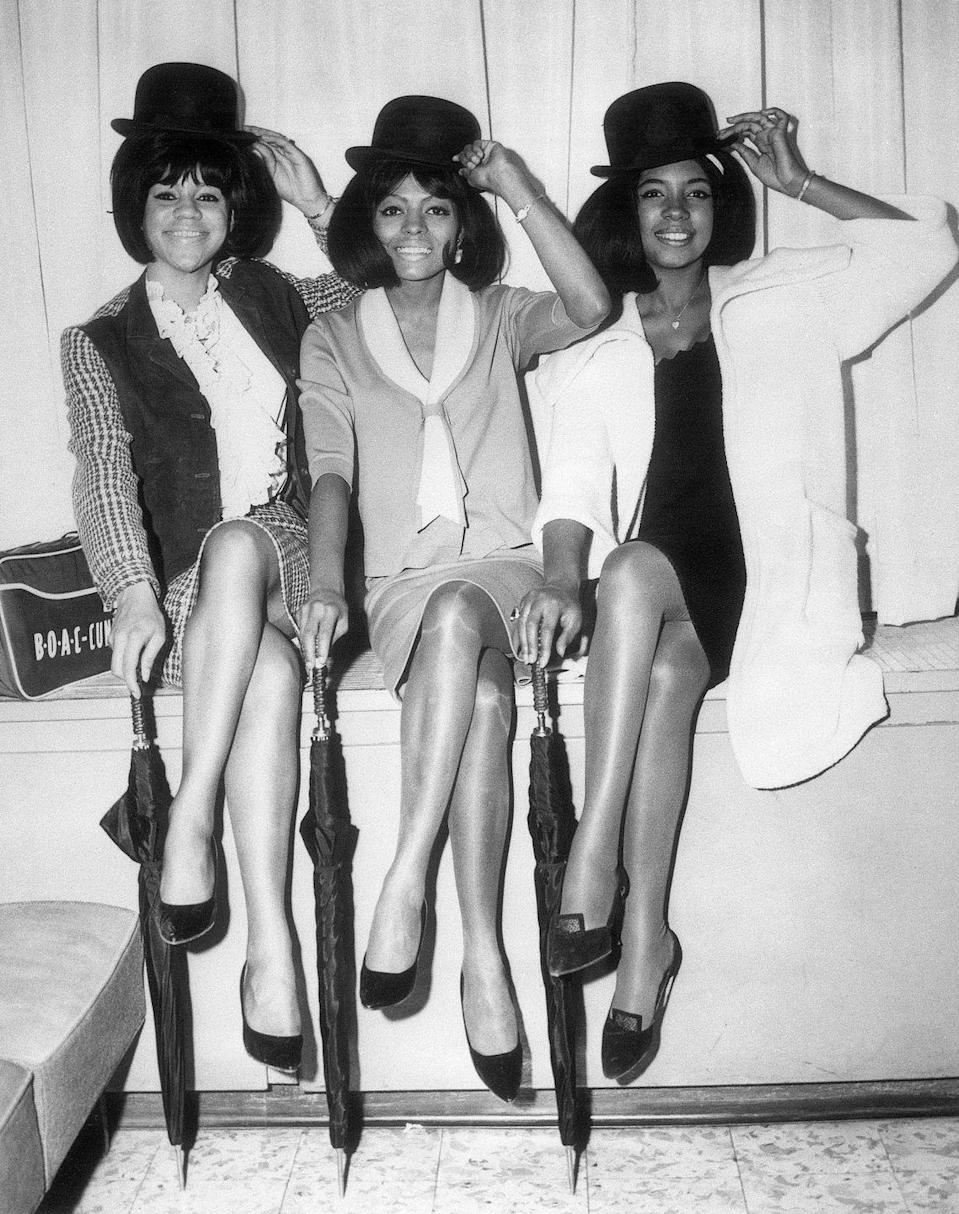 <p>Hats off to The Supremes for being the crème de la crème of girl group style.</p>