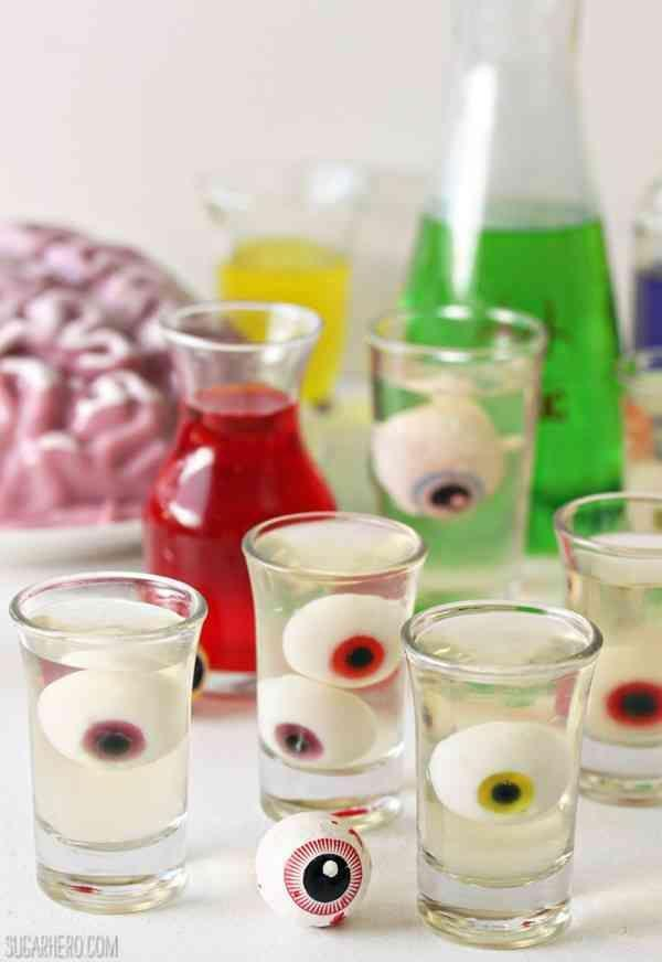 """<p>This is the kind of science experiment we can get on board with.</p><p>Get the recipe from <a href=""""http://www.sugarhero.com/floating-eyeball-jello-shots/#_a5y_p=2704880"""" rel=""""nofollow noopener"""" target=""""_blank"""" data-ylk=""""slk:Sugar Hero"""" class=""""link rapid-noclick-resp"""">Sugar Hero</a>.</p>"""