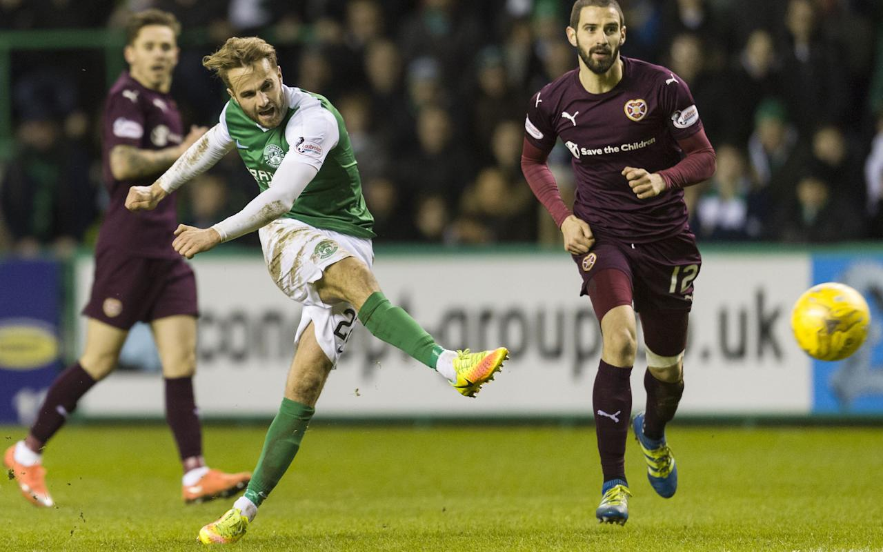 Hibernian 3 Hearts 1: Cup-holders take bragging rights in derby demolition