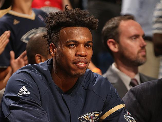 Buddy Hield has hit a third of his three-pointers in 2016-17. (Getty Images)