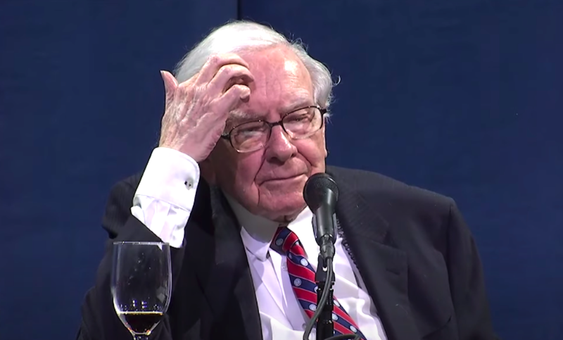 Warren Buffett, chairman and CEO of Berkshire Hathaway (Yahoo Finance)