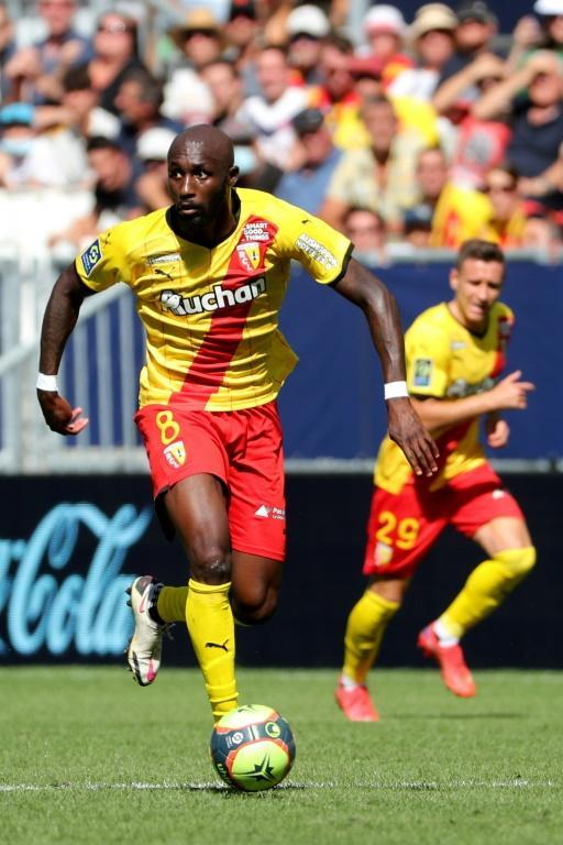 Captain Seko Fofana has been the driving force for Lens, who are second in France (AFP/ROMAIN PERROCHEAU)