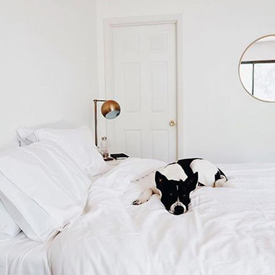 Brooklinen's bedding is so luxurious, everyone will want to partake. (Photo: Brooklinen)