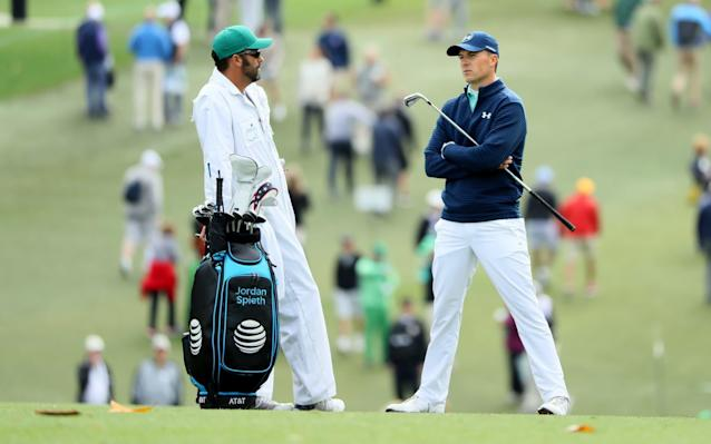 Hanging tough: Jordan Spieth had a mixed first round - Getty Images North America