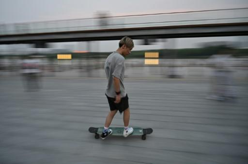 Skateboarders say they often face opposition in Shanghai