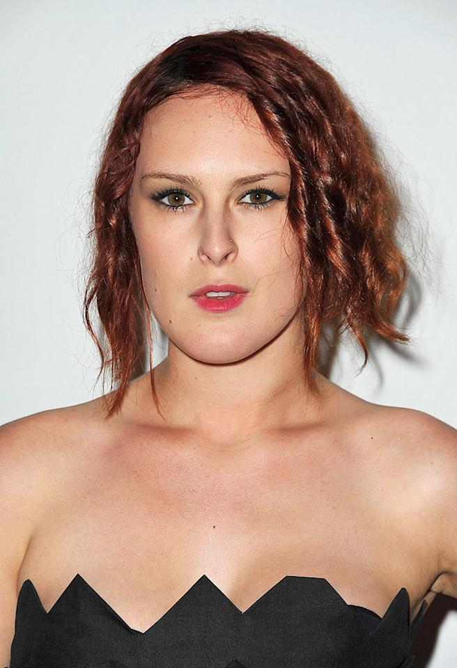 "Rumer Willis' tangled red locks ... hot or not? Jordan Strauss/<a href=""http://www.wireimage.com"" target=""new"">WireImage.com</a> - May 4, 2009"