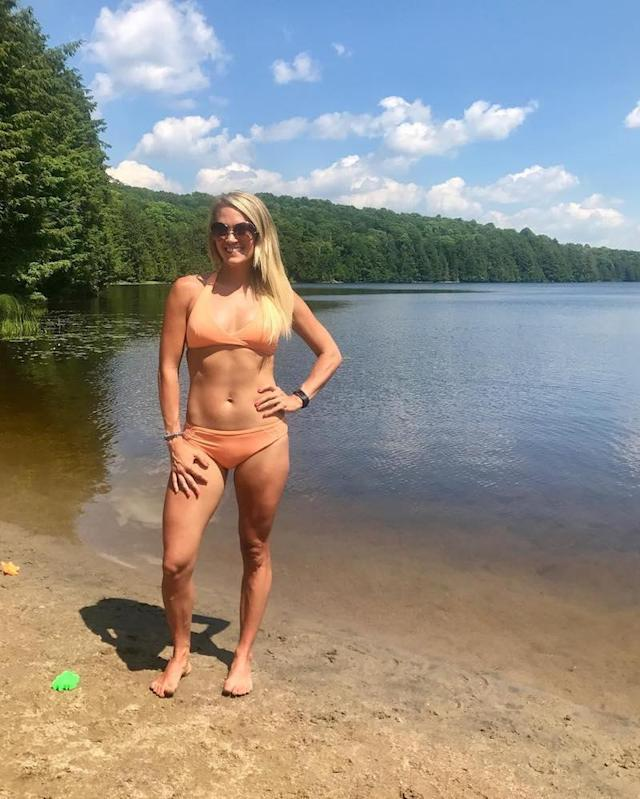 """<p>When you have your own swim line, you slay when you wear it. The country singer looked lake ready — and ab fab — in this two-piece suit. (Photo: <a href=""""https://www.instagram.com/p/BW0f2palPl5/?taken-by=carrieunderwood&hl=en"""" rel=""""nofollow noopener"""" target=""""_blank"""" data-ylk=""""slk:Carrie Underwood via Instagram"""" class=""""link rapid-noclick-resp"""">Carrie Underwood via Instagram</a>) </p>"""