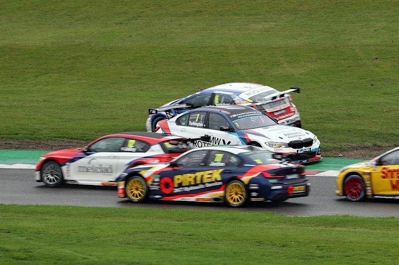 Sutton wins race two, Cammish into points lead