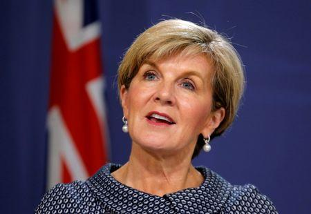 Australian foreign minister criticizes Trump's remark to French first lady