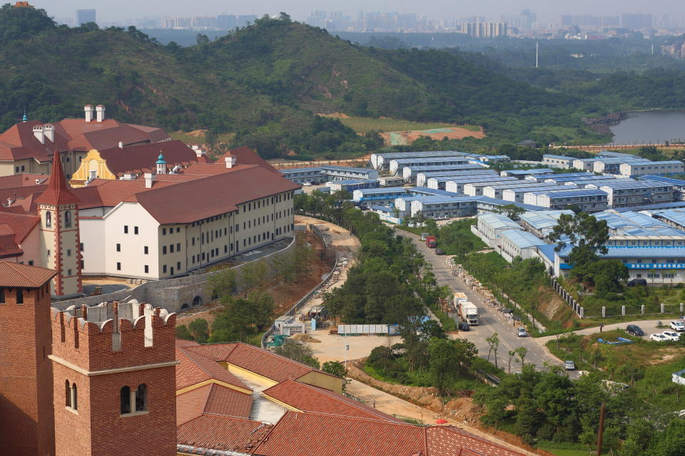 Huawei turns farmlands in Donguan, China into its European style campus.