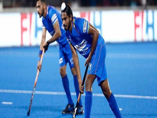 Indian hockey team forward Gursahibjit Singh (Photo/ Hockey India)