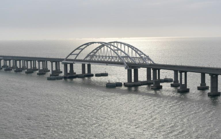 The US and Canada sanctioned a railway company and its CEO for providing service to Crimea from Russia over the recently opened Kerch Strait Bridge