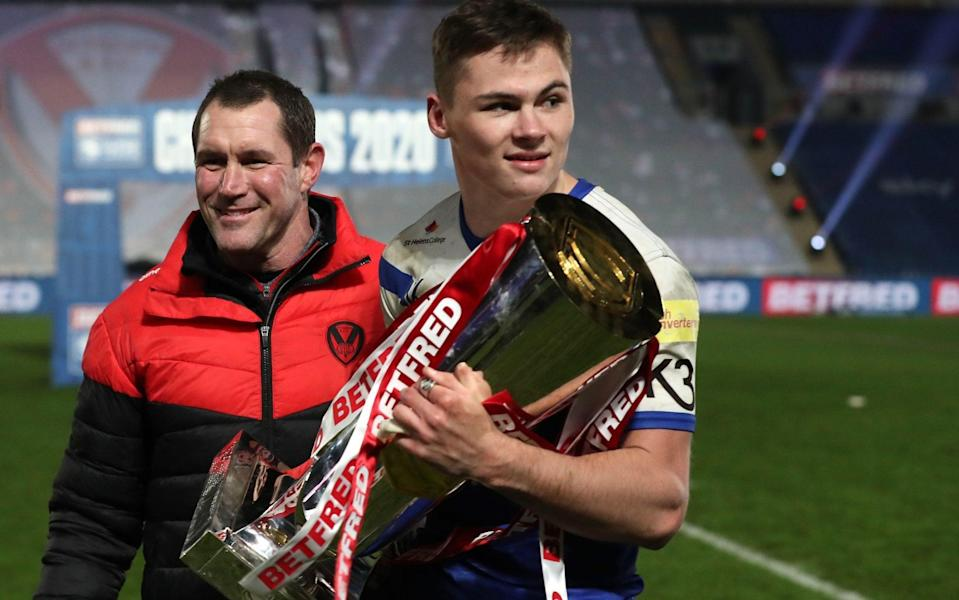 Jack Welsby —St Helens teenager Jack Welsby secures dramatic Grand Final victory with late try - PA