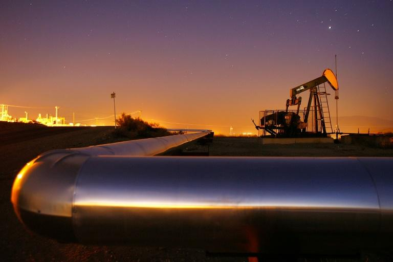 Crude prices rallied after Iraq's oil minister said OPEC and other top producers could consider cutting output when they meet this week (AFP Photo/DAVID MCNEW)